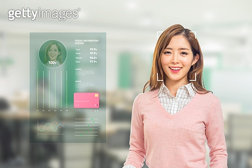 한국인, 지불 (구매), 안면인식기술 (생체인식), 생체인식, 정확 (컨셉)