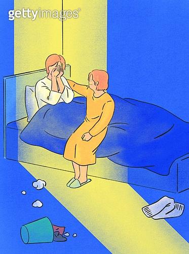 위로, 사람, 응원, 우울, 우울 (슬픔), 정신건강 (주제), 빛 (자연현상), 방, 부모