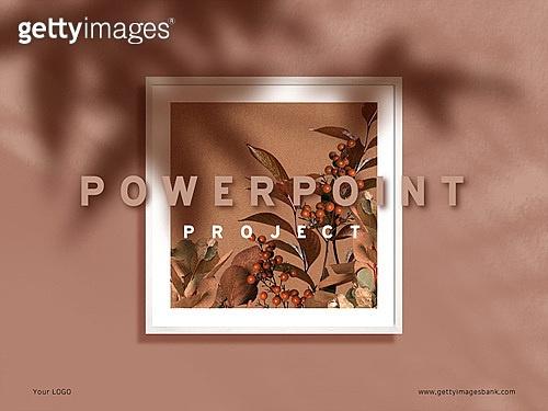 파워포인트, 메인페이지, 가을, 인테리어, 액자(예술도구), 그림자, 낙엽, 감성, 빛