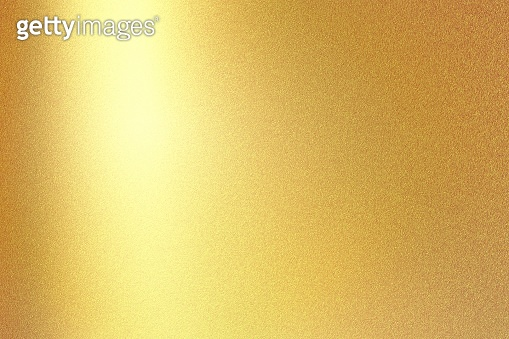 Gold foil glitter metallic wall with copy space, abstract texture background