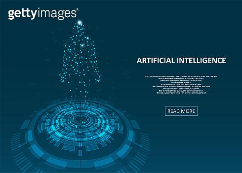 Artificial Intelligence illustration.