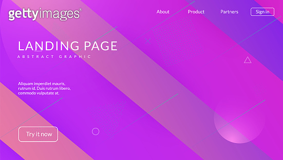 Geometric Design. Wave Minimal Layout. Blue Mobile Background. Rainbow Pattern. Neon Poster. Flow Landing Page. Plastic Page. Commercial Template. Violet Geometric Design