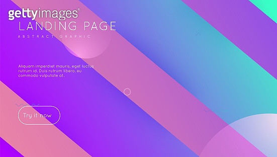 Digital Layout. Flat Abstract Background. Modern Cover. Hipster Frame. Minimal Journal. Colorful Brochure. Wavy Landing Page. Pink Bright Shape. Violet Digital Layout