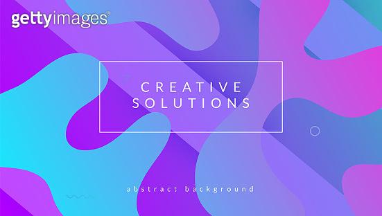 Futuristic Banner. Hipster Paper. Commercial Geometry. Gradient