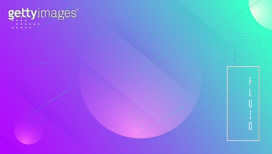 Abstract Banner. Horizontal Invitation. Futuristic Element. Fluid Cover. Violet Mobile Background. Vibrant Paper. Flow Landing Page. 3d Minimal Flyer. Lilac Abstract Banner