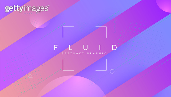 Rainbow Poster. Cool Geometric Shape. Creative Geometry. Plastic Frame. 3d Landing Page. Futuristic Banner. Violet Bright Background. Dynamic Screen. Violet Rainbow Poster