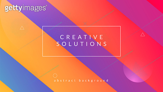 Dynamic Banner. Wavy Fluid Shape. Horizontal Brochure. Geometric