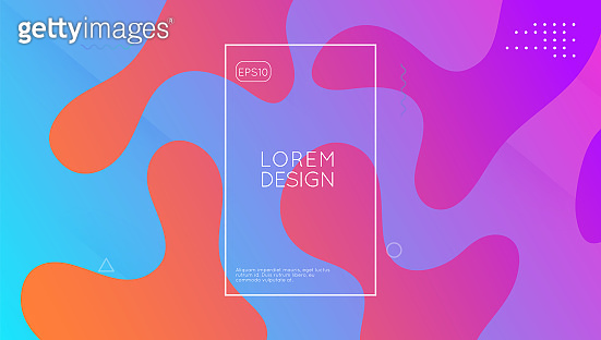 Gradient Cover. Art Landing Page. Geometric Flyer. Wave Abstract Layout. trendy Design. Cool Spectrum Illustration. Pink Vibrant Shape. Dynamic Journal. Magenta Gradient Cover