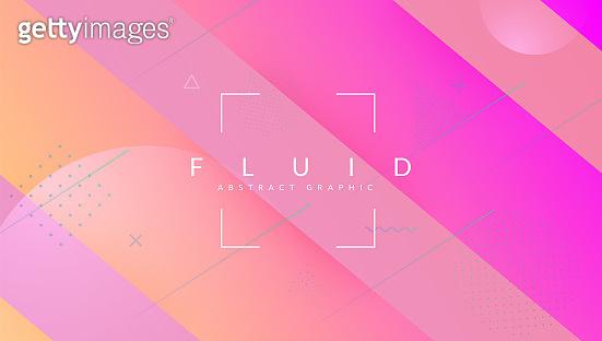 Digital Design. Rainbow Screen. Art Minimal Shape. Abstract Poster. Spectrum Illustration. Vibrant Paper. Wave Landing Page. Blue Bright Layout. Lilac Digital Design
