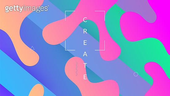 Gradient Background. Futuristic Cover. Flow Liquid Layout. Purple Vibrant Banner. Trendy Frame. Digital Element. Wavy Landing Page. Colorful Wallpaper. Lilac Gradient Background