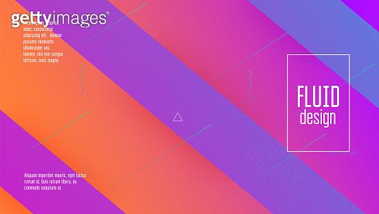 Fluid Cover. Mobile Paper. Wave Minimal Layout. Futuristic Concept. Tech Landing Page. Digital Banner. Violet   Poster. Spectrum Geometry. Lilac Fluid Cover