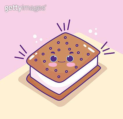cute cartoon cookie