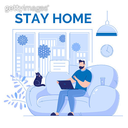 Work and study remotely. Stay at home.