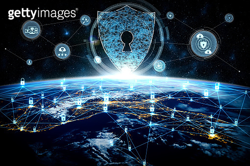 Cyber security technology and online data protection in innovative perception