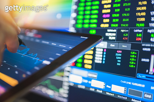 Business fund investor planning for investment in crisis