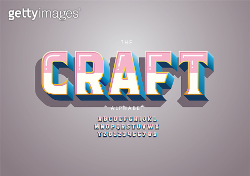 Craft alphabet