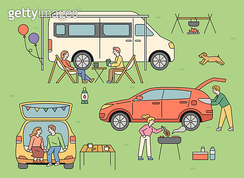 People who enjoy auto camping.