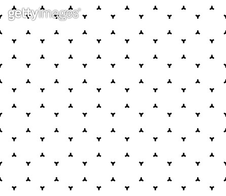 Simple minimalist seamless pattern, black and white