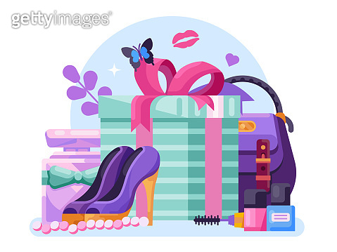 Gifts for Womens Day or Ladies Gift Box