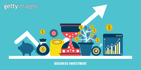 Business Investment Vector Concept