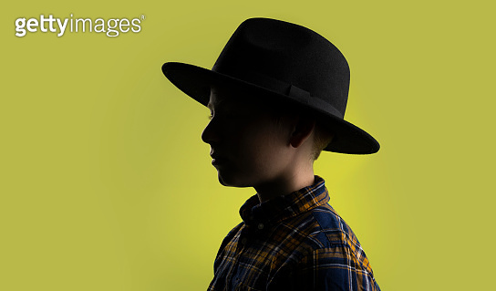 Young boy with a hat