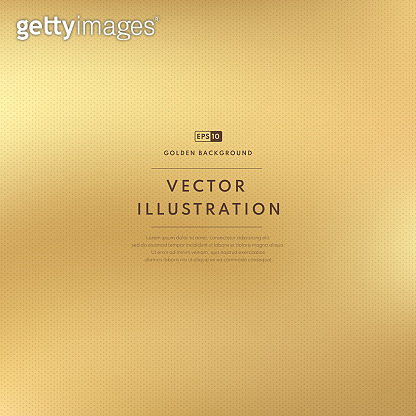 Abstract luxury smooth golden color with dotted pattern texture. Vector gold blurred gradient style background. Vector illustration.