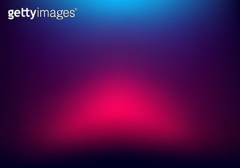 Abstract blurred background blue and pink neon gradient color with wave line texture.