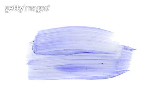 Light Purple Swatch, Acrylic Paint Smear, Oil Smudge