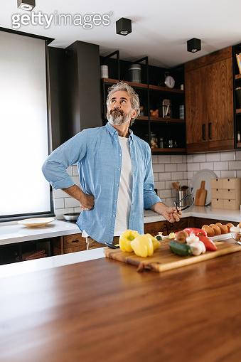 He knows his way around a kitchen