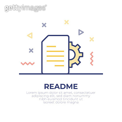 Instruction Manual Outline Icon Design