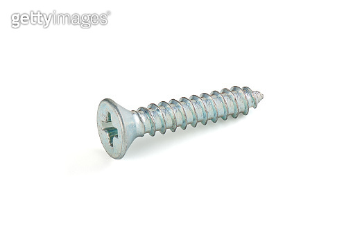 Flat head screw, cut out, photo stacking