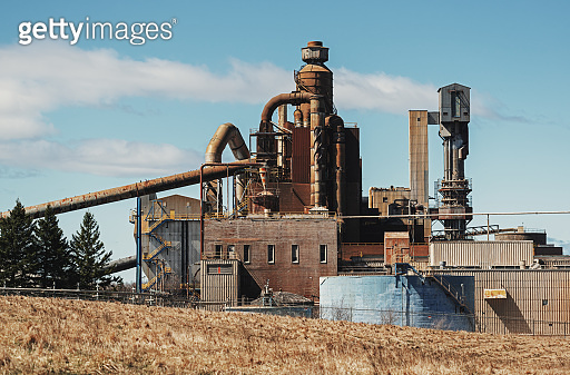 Decommissioned Pulp Mill