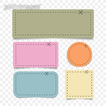 Different shape coupon borders