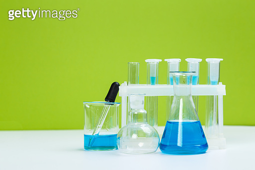 science laboratory test tubes, chemical laboratory equipment