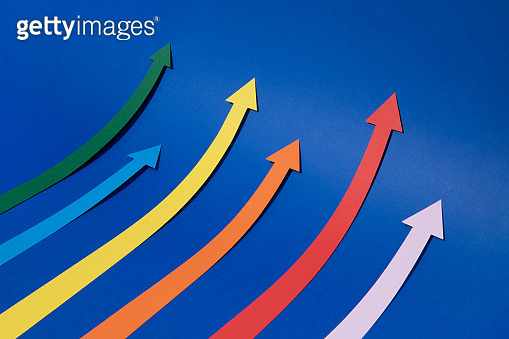 Abstract Finance Growth Graph