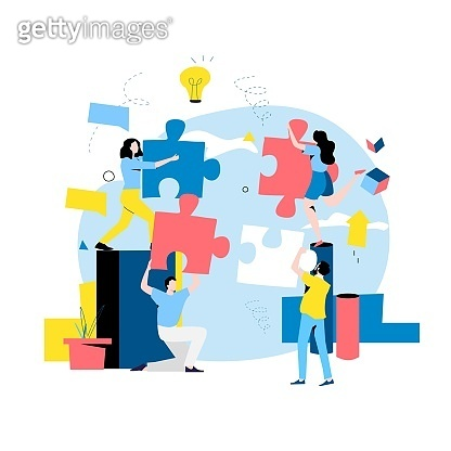 Team work, team building, corporate organization, partnership, problem solving, innovative business approach, brainstorming, unique ideas and skills
