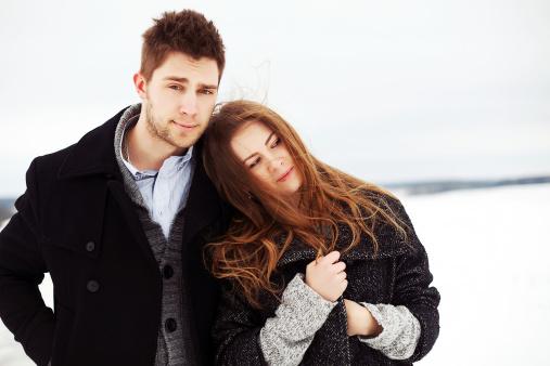 겨울 커플 사진은 이렇게~