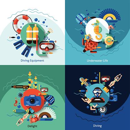 4 Concept Icon Set