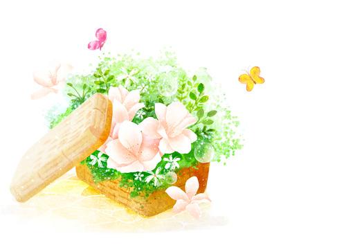 향긋한 봄 백그라운드
