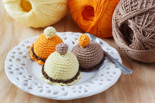 포근포근 뜨개질용품