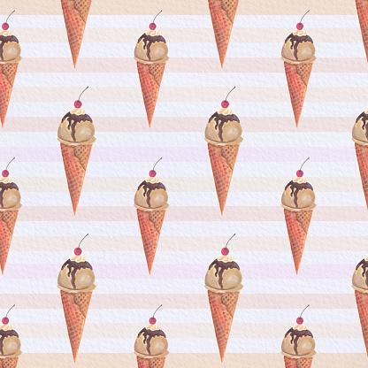 아이스크림 패턴