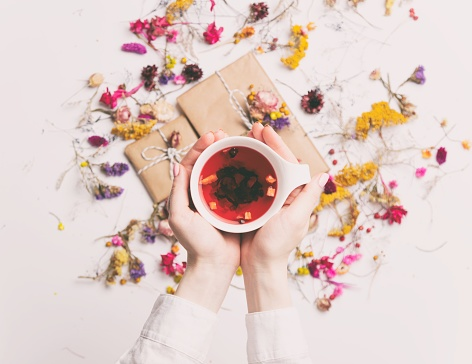 Teas that warm you up