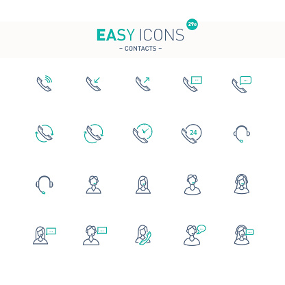 Easy icon set