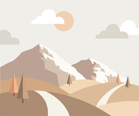 trendy landscape