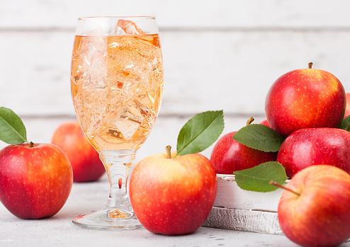 Organic apple cider