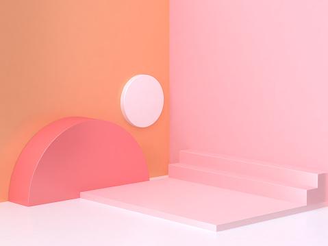 abstract scene 3d rendering