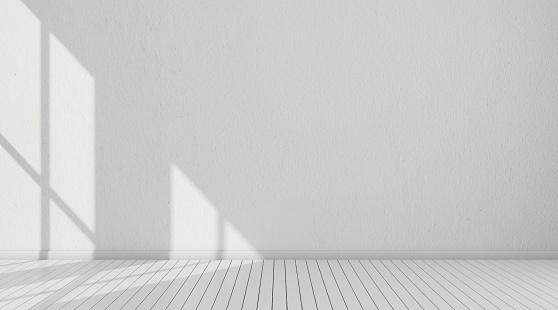 3D white room
