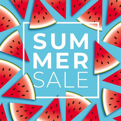 여름, 세일, 포스터