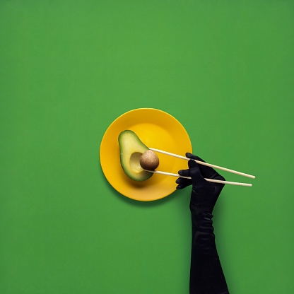 Creative concept photo of kitchenware