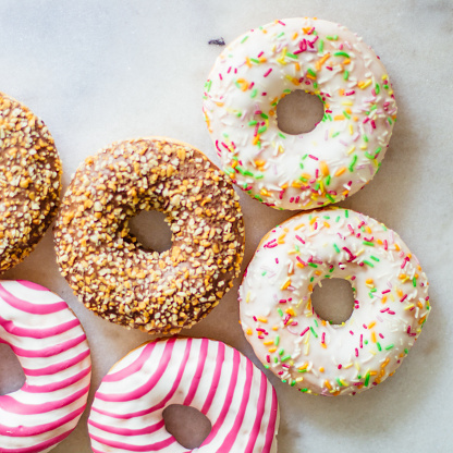 Sweet Colourful Donuts